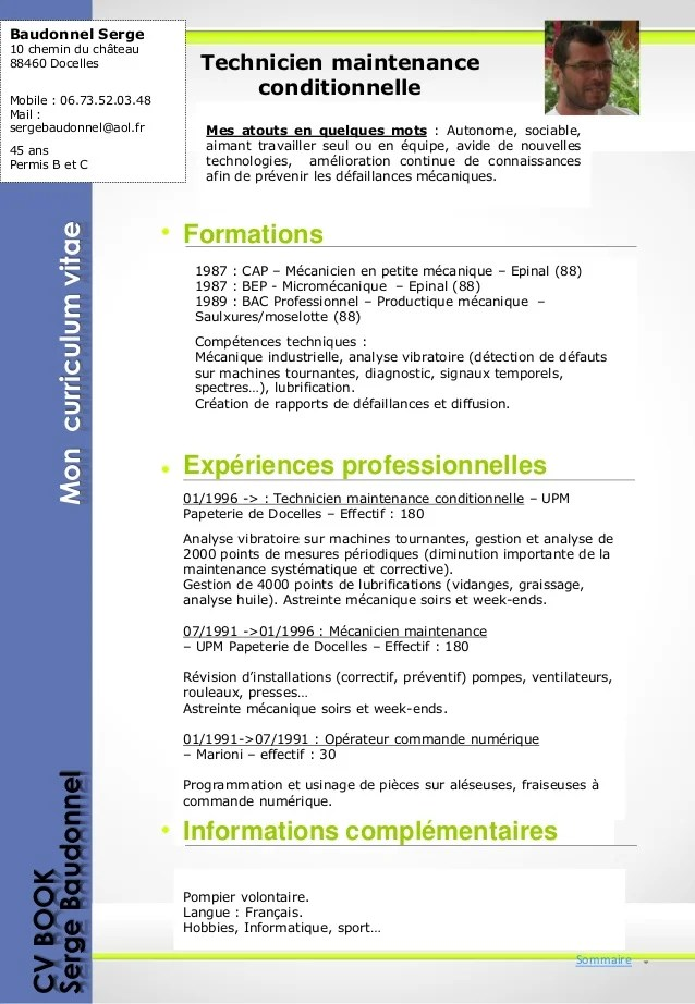 cv technicien en informatique industrielle