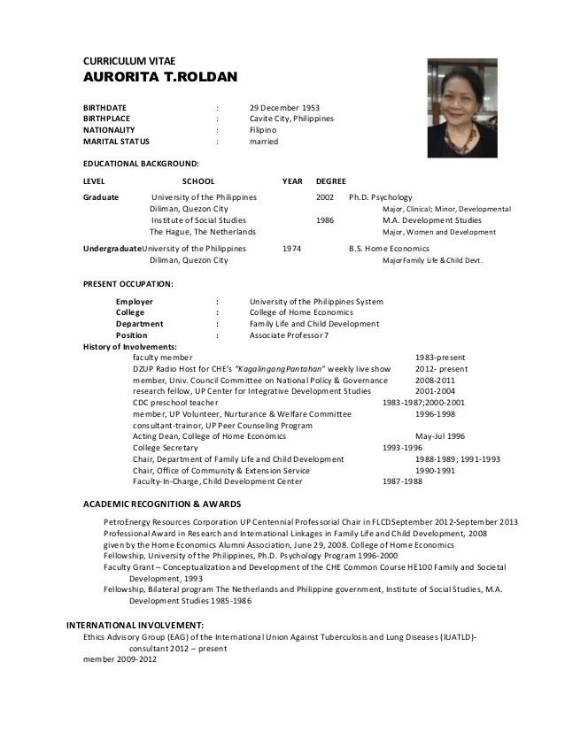 single or marrid cv free