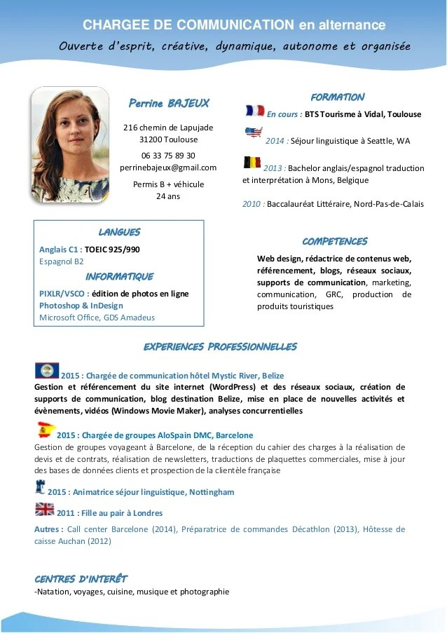 photo cv toulouse