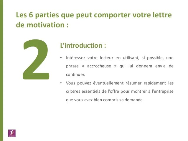 cv lettre de motivation et references