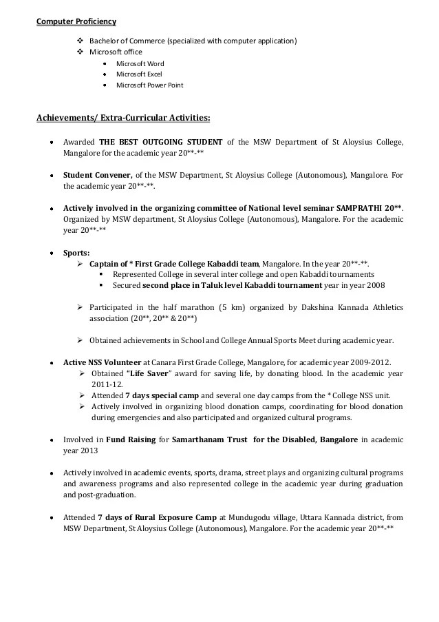 samples of achievements on resumes - Kenicandlecomfortzone