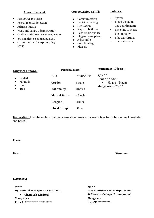 Resume For A Photography Job How To Create A Photography Resume With Pictures Wikihow Freshers Cv Format