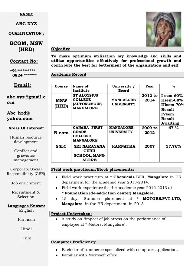 Best Resume Format For Engineers Example Of Best Resume Format 2017 Resume Format 2017 Freshers Cv Format 2