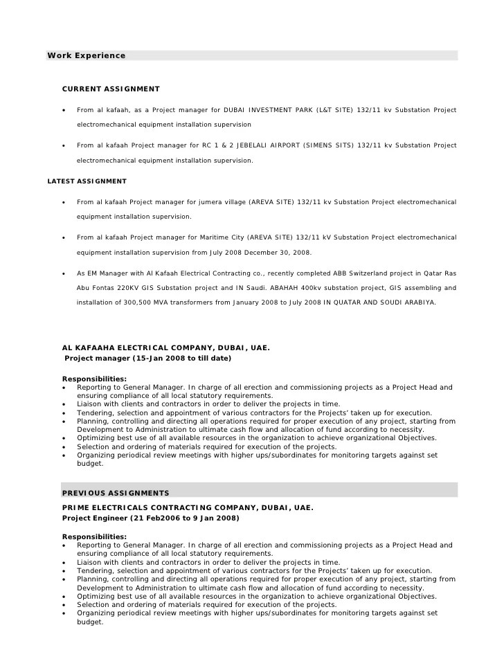 Functional Resume Project Manager Example Of A Functional Resume The Balance Cv For Sitemanager