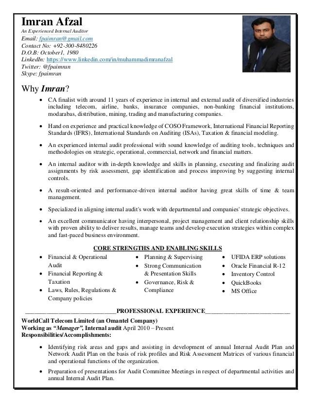 auditor cv - Alannoscrapleftbehind - income auditor sample resume
