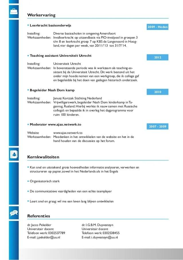 Cv Maken In 3 Stappen Je Curriculum Vitae Downloaden Cv Janverdonk