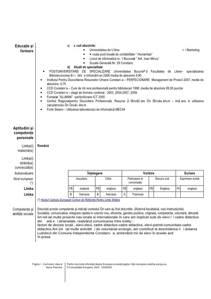 Cv europass model completat contabil resume templates libreoffice cv europass model completat contabil yelopaper Images