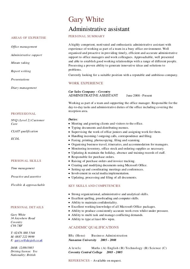 Resume Summary Examples Resume Summary Statement Examples Cv Resume Examples To Download For Free