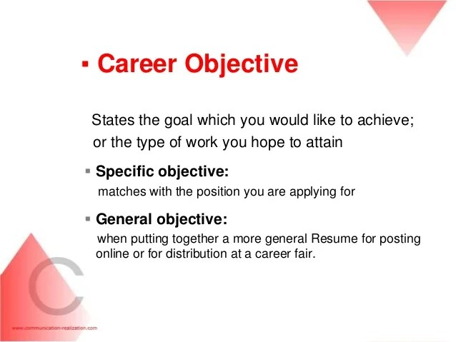 career objective examples for cv - Intoanysearch - career objectives on a resume