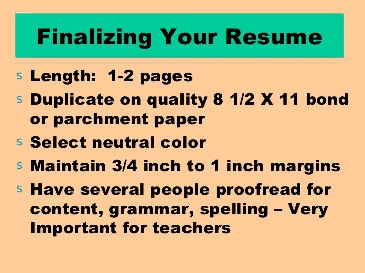 writing a resume past or present tense