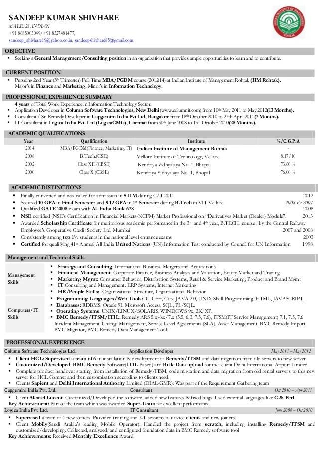 Examples Of Resumes   Finance Resume Sample Banking Format Naukri     VisualCV