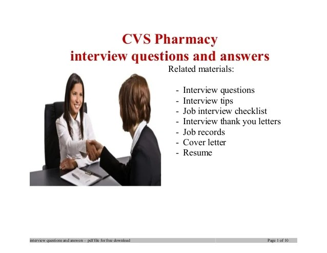 pharmacist interview questions