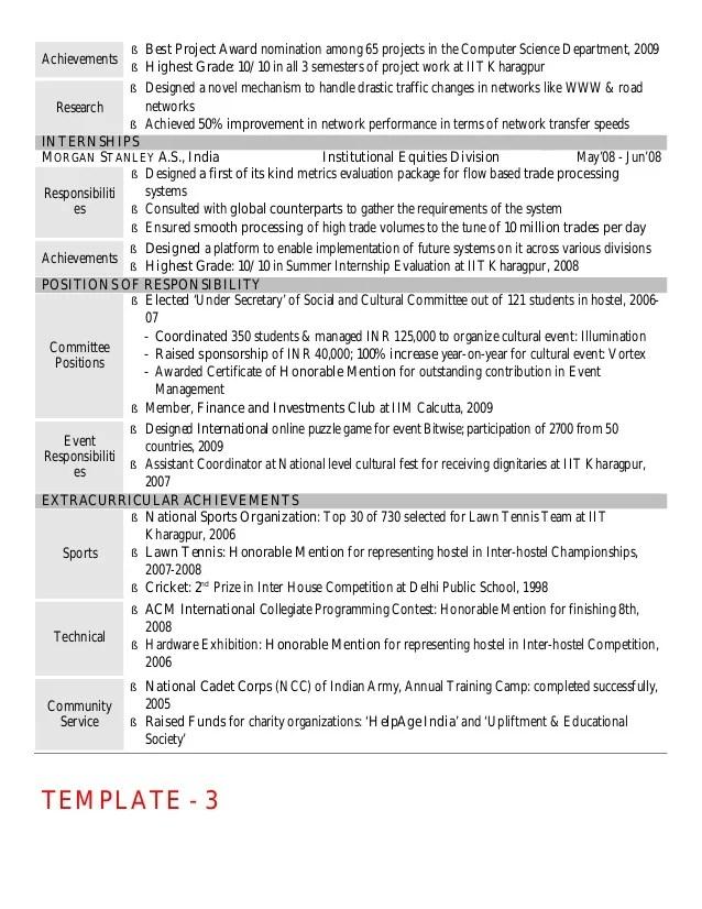 achievements resume sample - Josemulinohouse - achievements in resume sample