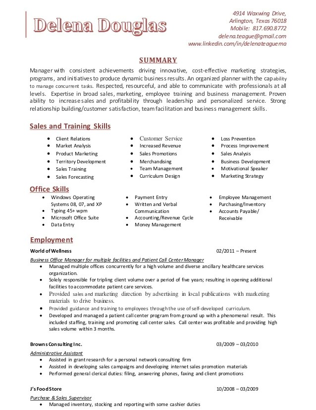 training skills resume - Onwebioinnovate - lead trainer sample resume