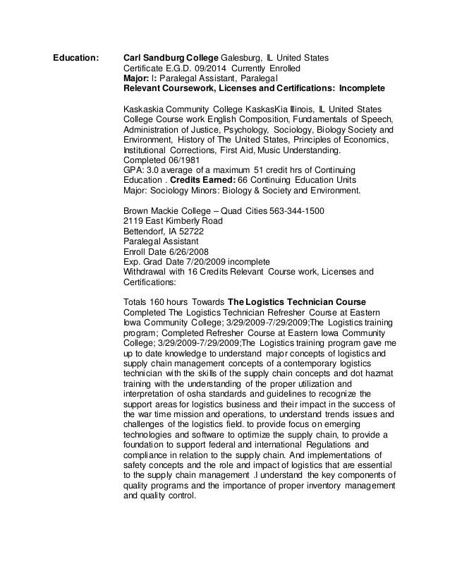 paralegal resume highlights