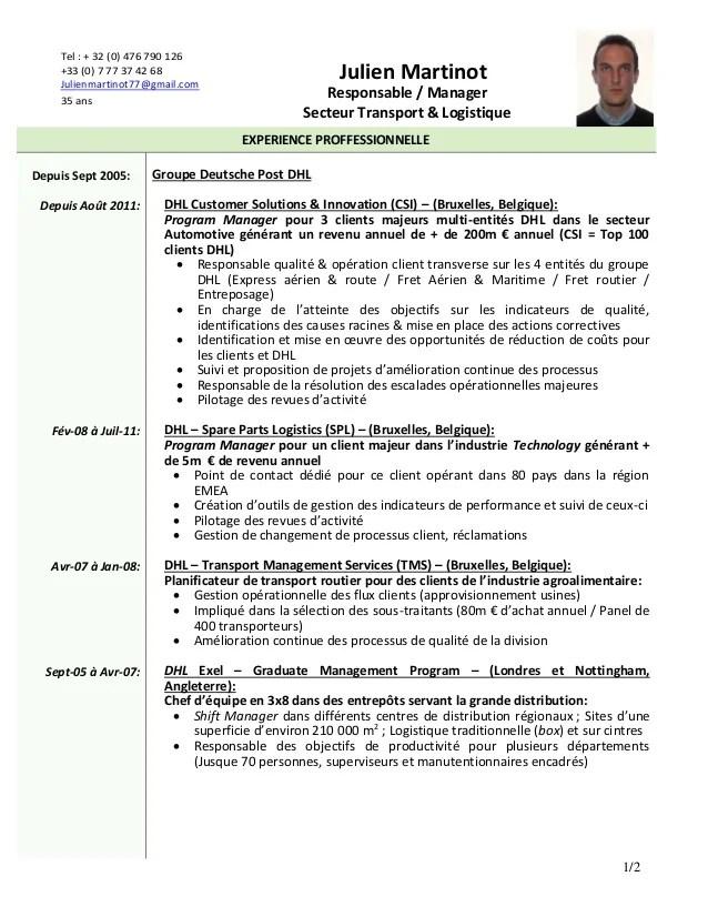 description cv assistant rh
