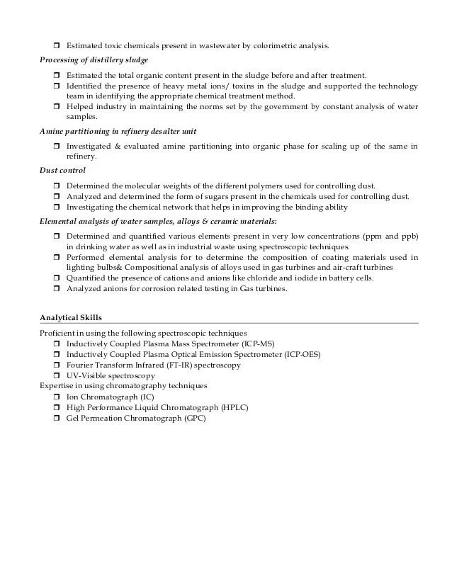 chemistry professor resume - Selol-ink