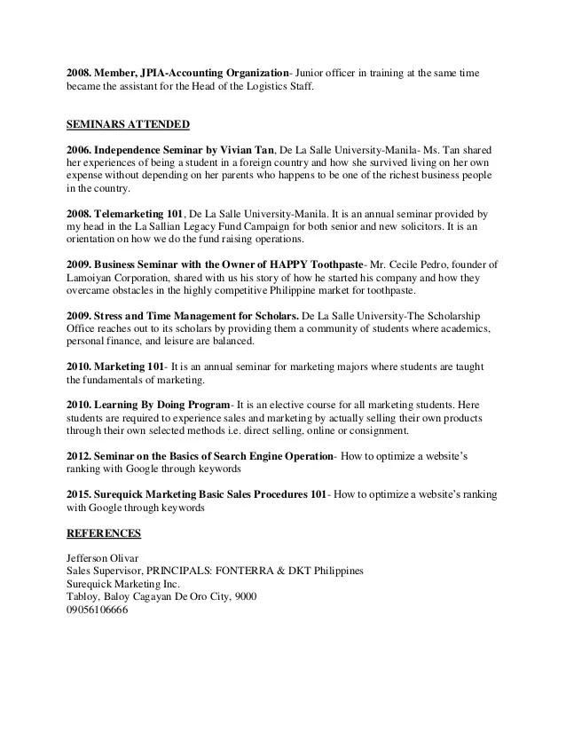 marketing student resume - Eczasolinf - marketing student resume