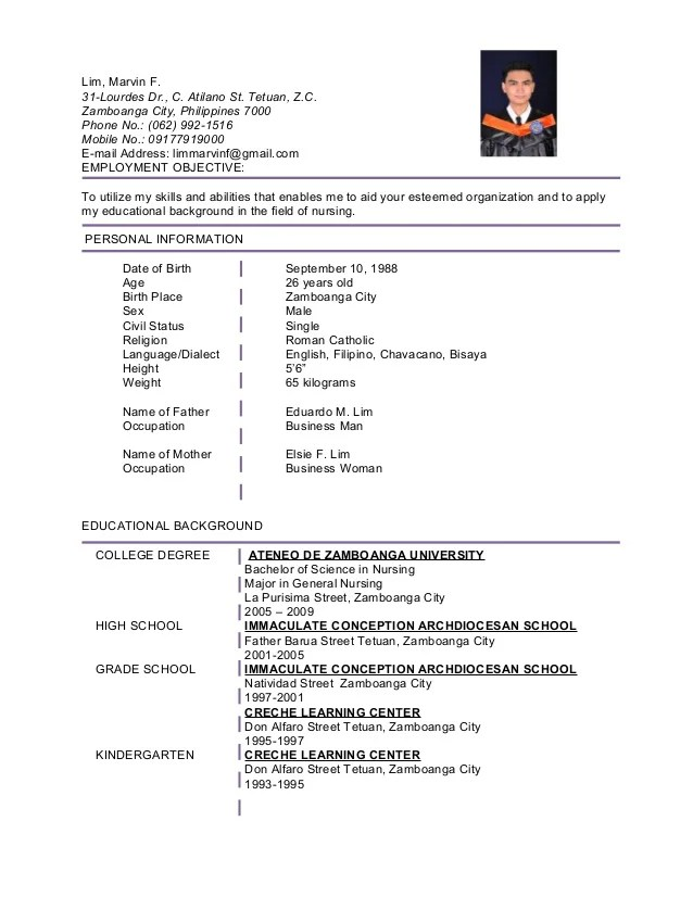 physician resume sample philippines