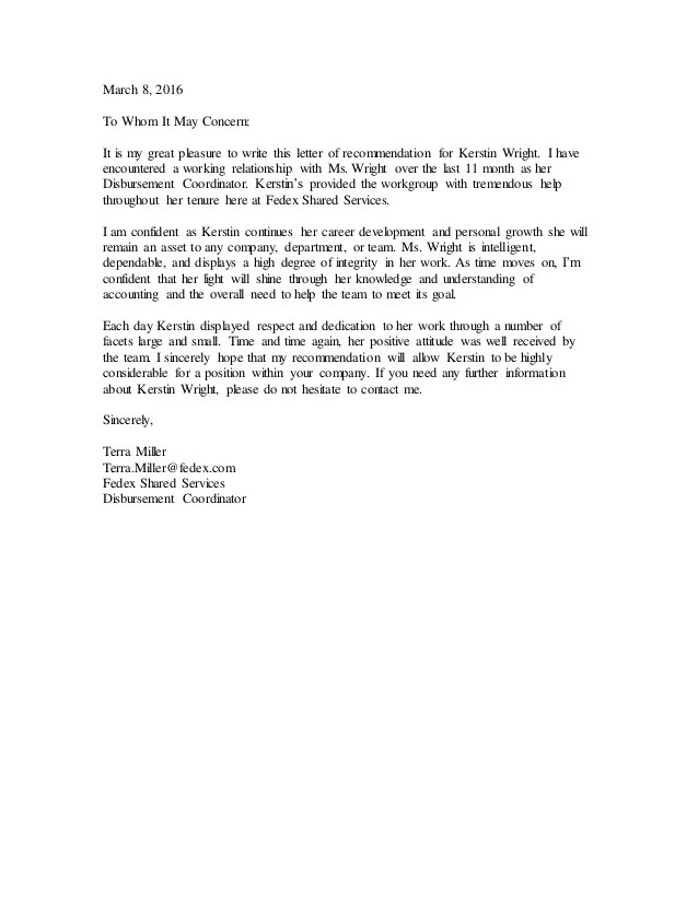 how to write a great recommendation letter