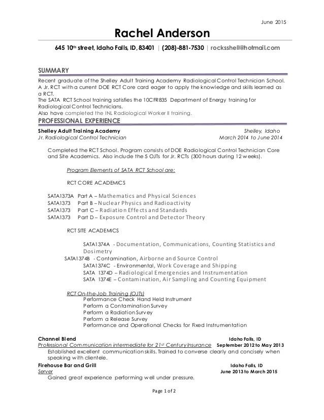 rad resume app