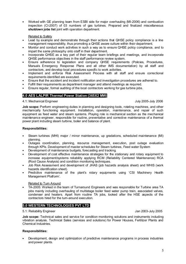 maintenance sample resume - Jolivibramusic - turbine engine mechanic sample resume
