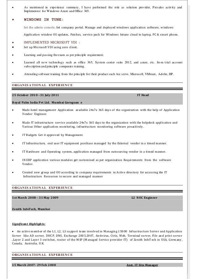 office 365 resume - Minimfagency