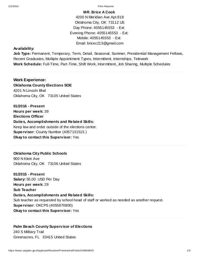 resume builder usa jobs - Onwebioinnovate - usa resume builder