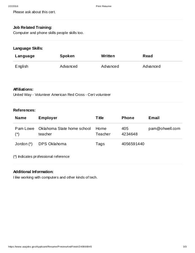 usajobs online resume builder