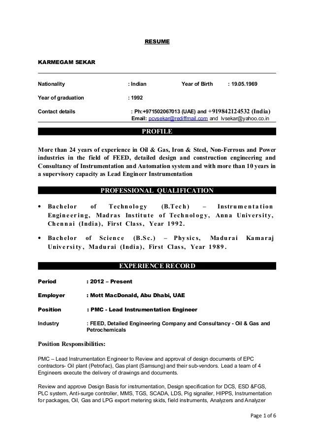 instrumentation and control engineer resume samples - Funfpandroid - coastal engineer sample resume