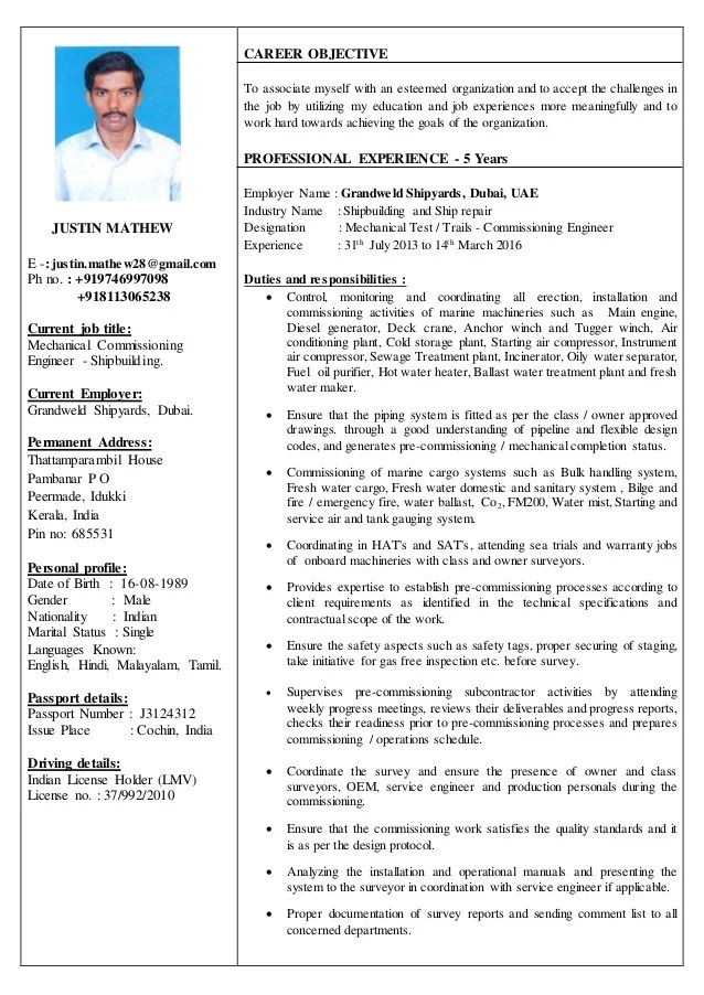 Best Teacher Resume Example Livecareer Resume Justin Mathew Mechanical Test Trails