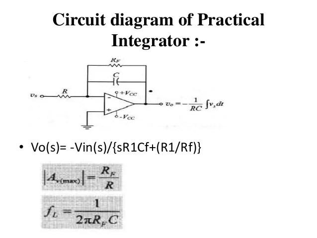 r c time constant circuit diagram