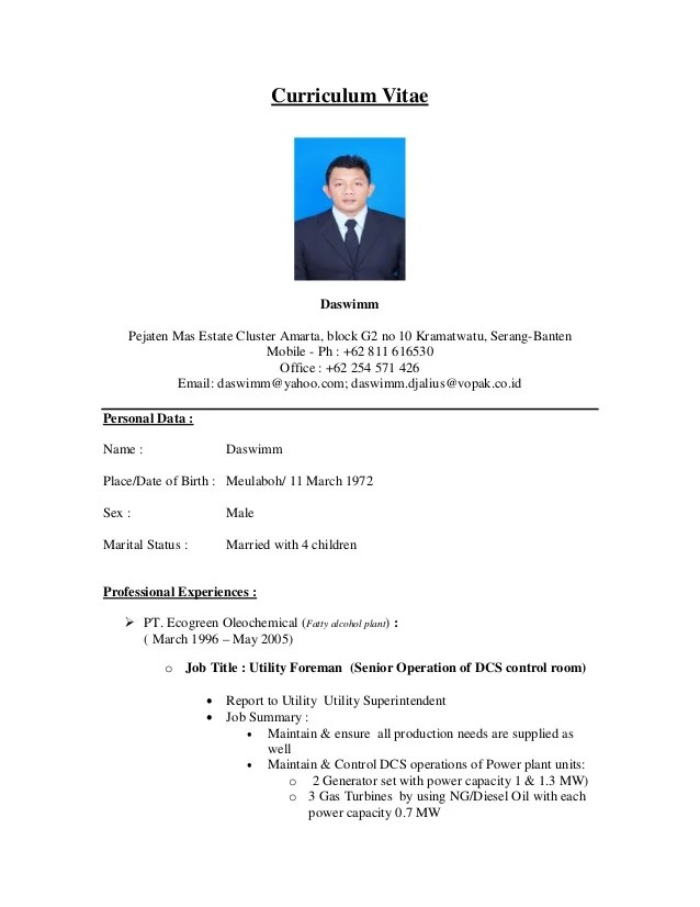 3 It Operations Manager Resume Samples Examples 19 One Page Cv Sample Curriculum Resume Example 55