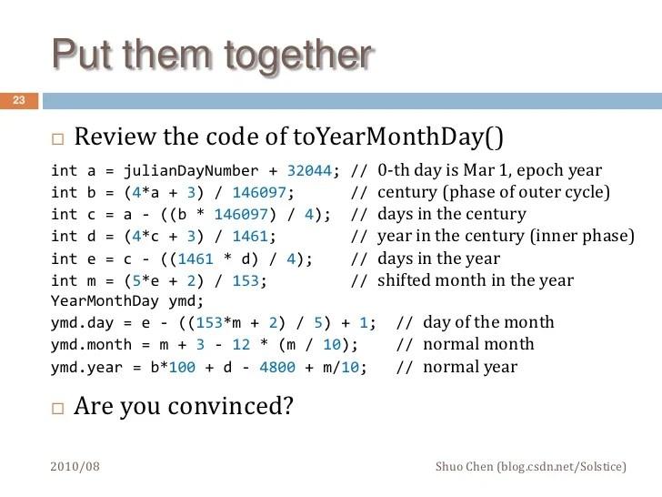 julian date code format - Timiznceptzmusic
