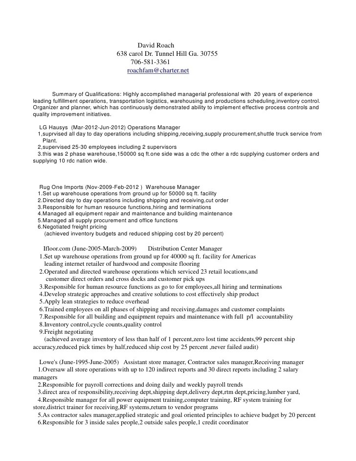 A Resume Example Distribution   Sample Resume Cover Letter ...