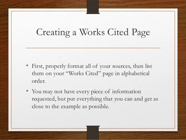 Source Page For Research Paper Example