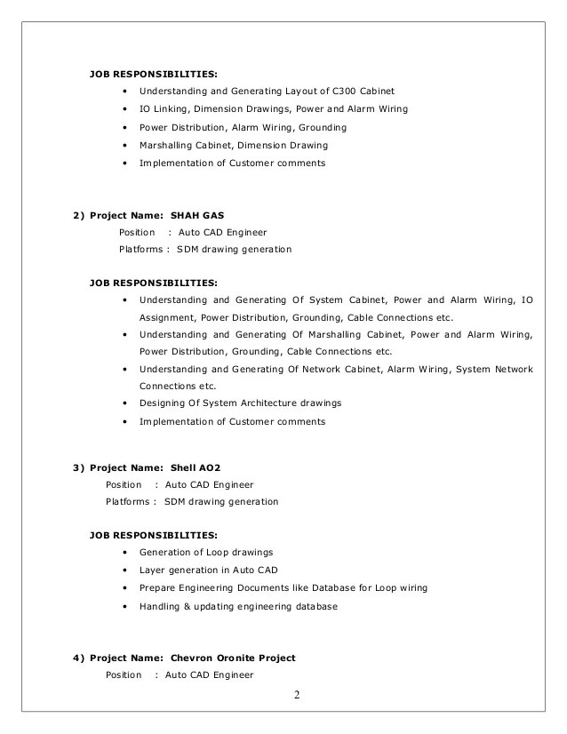 cad designer cv - Towerssconstruction