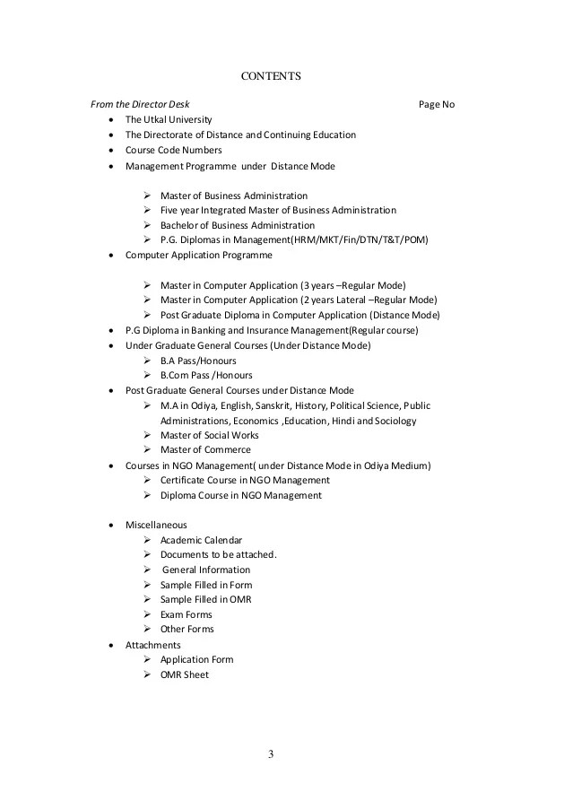 essay prospectus example
