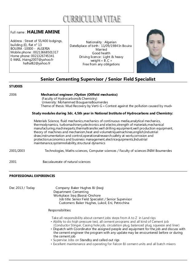 mechanical supervisor resume samples - Jolivibramusic - supervisor resume samples