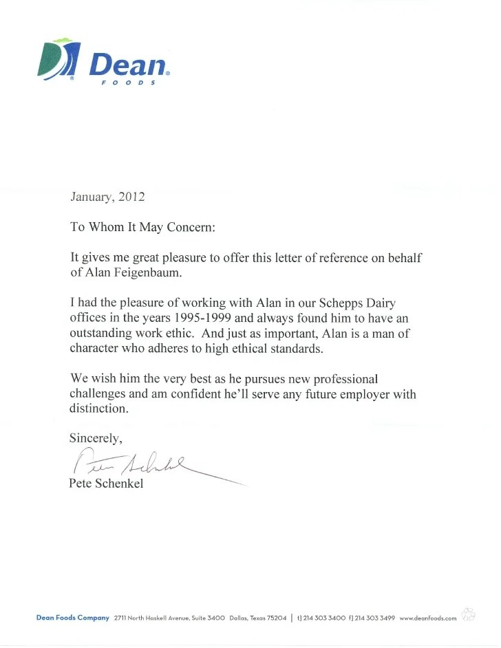 Sample Letter Of Recommendation For A Job Gallery - letter format - sample reference letter