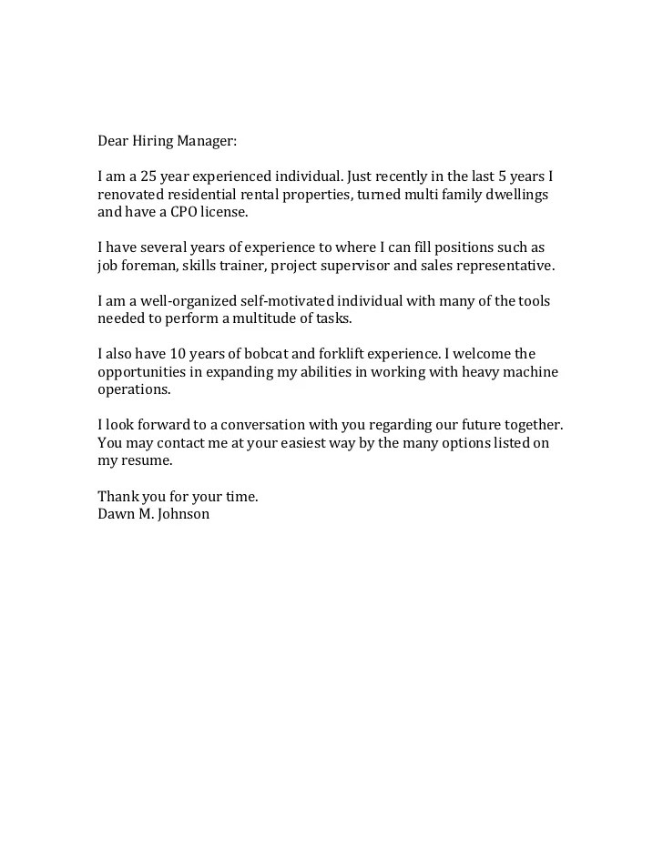 Amazing Cover Letters Cover Letter And Job Application Dear Hiring Manager 15