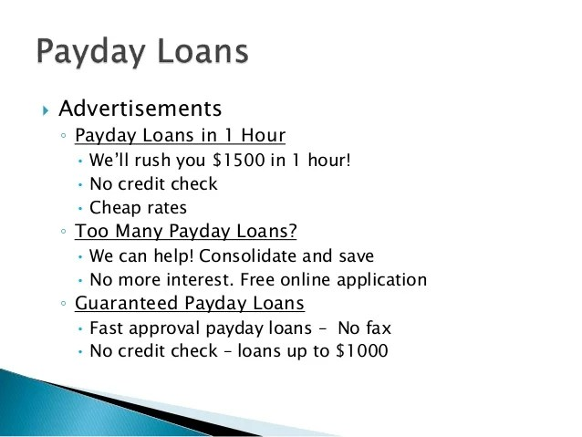 Debt Traps: Payday Loans, Car Title Loans, Tax Refund Anticipation Lo…