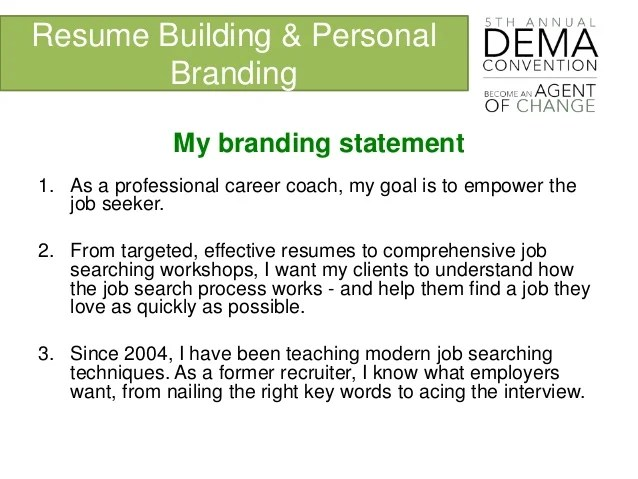 great resume building 100 great resume words aie personal brand statement resume examples writersgroup139webfc2