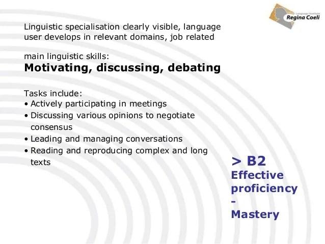 linguistic skills cv
