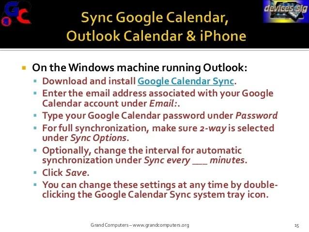 How Do I Sync A Google Calendar To My Ipad How To Sync Google Calendar With The Ipad Ipad Insight Can I Sync My Outlook Calendar With Google Calendar
