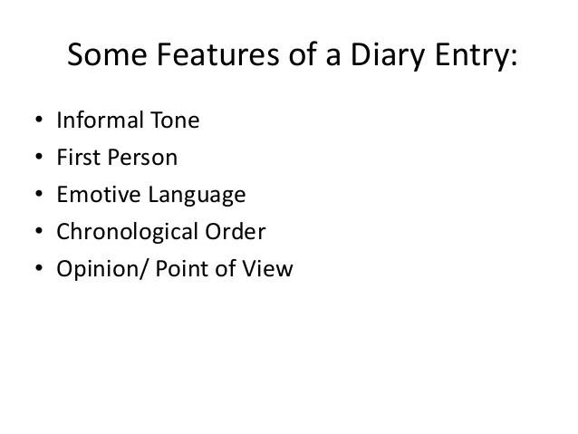 Entry3 Diary Writing Ks3 Year 7