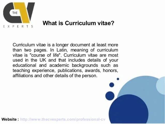 what is the meaning of cv resumes - Minimfagency - resume vs curriculum vitae