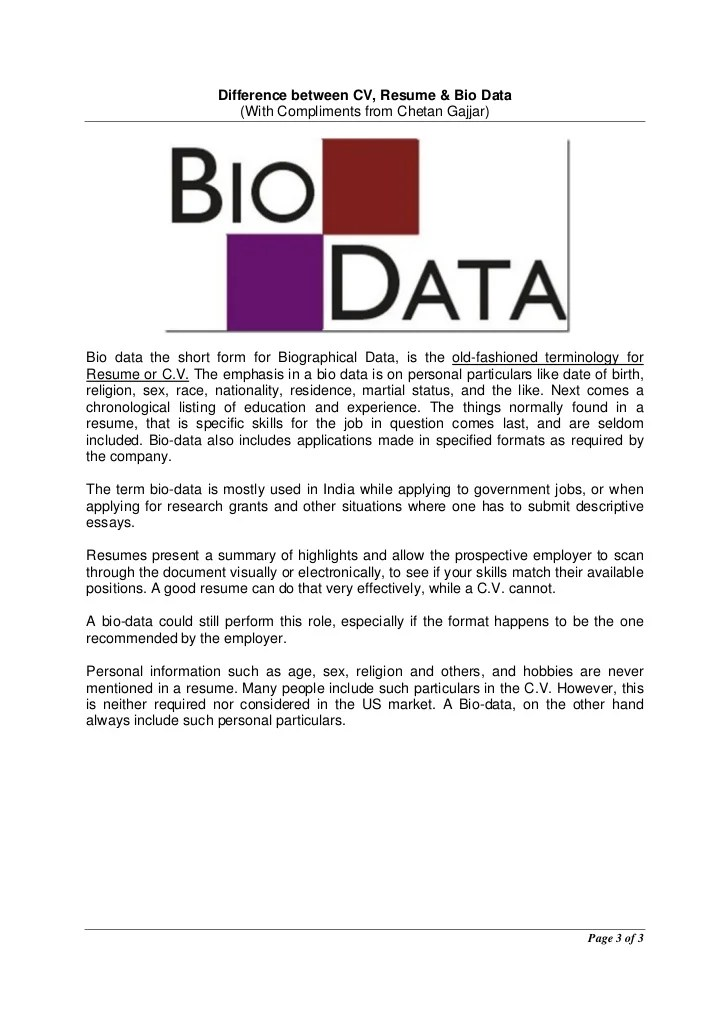 resume cv biodata - Towerssconstruction