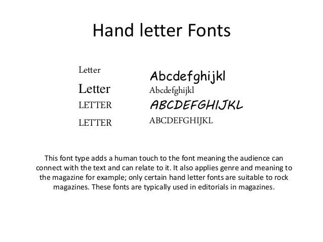 magazine letter fonts - Nisatasj-plus