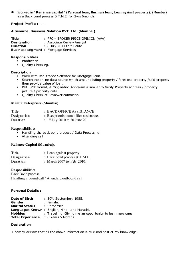 4 Business Systems Analyst Resume Samples Examples Dipti Kale Resume